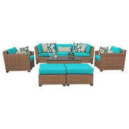 Tropical Outdoor Lounge Sets by Cubicles