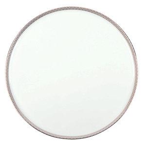 White Porcelain Round Cake Platter