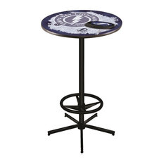 Tampa Bay Lightning Pub Table 28-inch