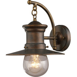 Farmhouse Outdoor Wall Lights And Sconces by ELK Group International