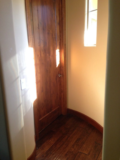 Can I Have White Trim And Natural Solid Wood Doors
