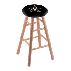 Oak Extra Tall Bar Stool Natural Finish With Vanderbilt Seat 36-inch