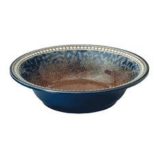 "Merritt International Coral Sandstone 8"" Round Salad Bowl"