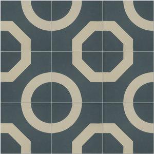 Illusion Pattern Tiles, Slate, Set of 12