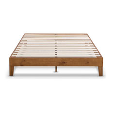 Naturalista Grand Solid Wood Platform Bed, Multi Size, Color, Natural Pine, King