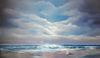 Atlantic Breeze - OIl on Canvas 30 x 40 inches