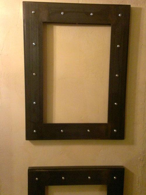 steel gallery frames picture frames