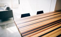 Custom Designed Wood Butcher Block Countertop