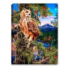 Wisdom of the Woods Illuminated Wall Art
