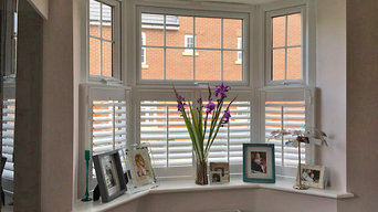 Cafe Style shutters in Durham