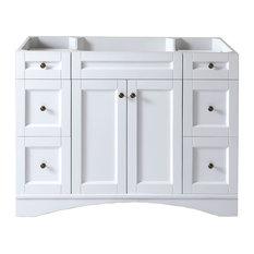 """Virtu Elise 48"""" Cabinet Only, White"""
