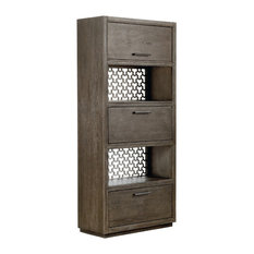 A.R.T. Home Furnishings Geode Tourmaline Entertainment Bookcase