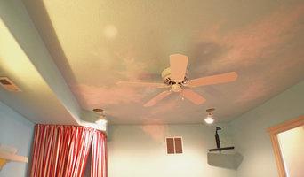 Custom wall treatments for Judith Balis Interiors