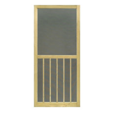 "Wood Screen Door, ACQ Treated, 5-Bar, Stainable, 1""x32""x80"""