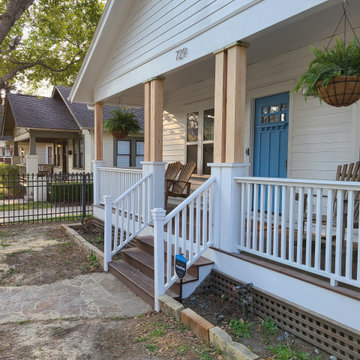 Heights Porch Facelift in Natural Cypress