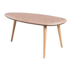GDF Studio Caspar Mid Century Design Wood Coffee Table, Natural