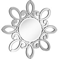 Wall Mirror Contemporary Octagonal 32-In