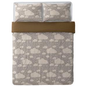 Rainy Day Bed Set, Grey, King