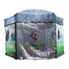 One Inch Series 8 ftx7 ft. Backyard Butterfly Learning Center