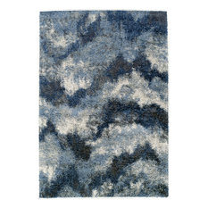 """Dalyn Arturro AT7 Navy Rectangle Area Rug, 5'3""""x7'7"""""""