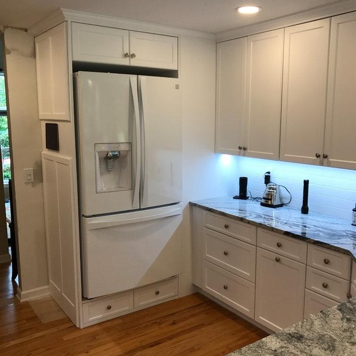 Sheila's White Kitchen