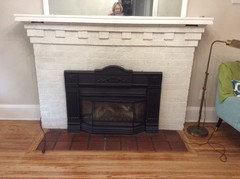 Can I Have Wood Floors All The Way To My Fireplace Wall