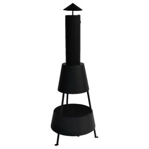 Rocket Outdoor Fireplace