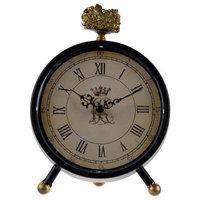 """Lavonia Pedestal Table Clock With Qquartz 7x3x8"""""""