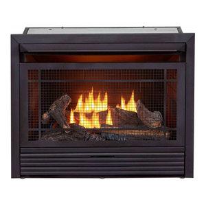Procom 36in Universal Ventless Firebox Insert Zero Clearance