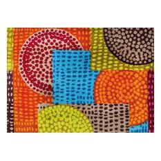 Ethno Pop Door Mat, 175x110 cm