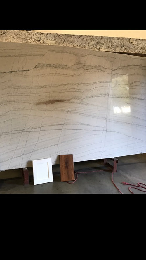 Carrara Marble Tile In Master Shower To Go With White