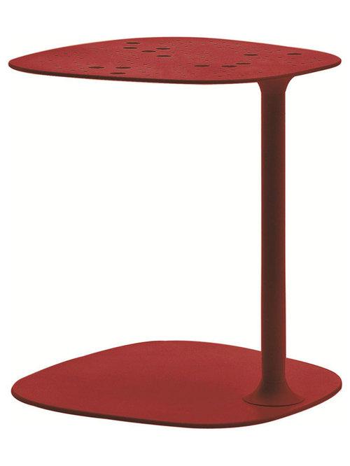Aikana Sidobord H42cm, Röd - Sideborde & aflastningsborde