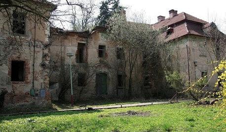 Houzz тур: Чешский замок XIV века для русских хозяев