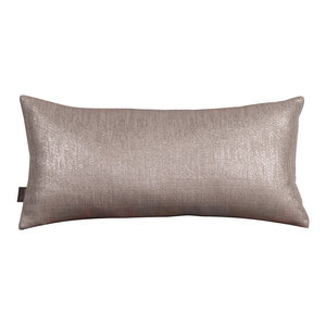 Howard Elliott Kidney Pillow, Pewter, Polyester Insert