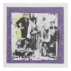 Colette, Justine And The Victorian Punks, Warhol, Lithograph