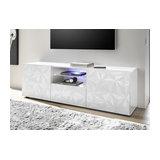 Prisma (white) 2 door 1 drawer TV unit