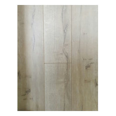 Foggy Gray Laminate Flooring With Wax Coating, 20.39 Sq. ft.