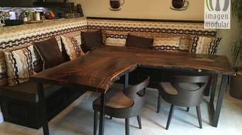 Solid Wood Custom Made Dining Table