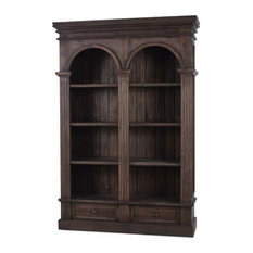 Bookcase, Roosevelt, Double Arch