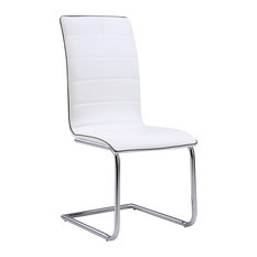 Global Furniture USA   Global Furniture Dining Chair, White   Dining Chairs