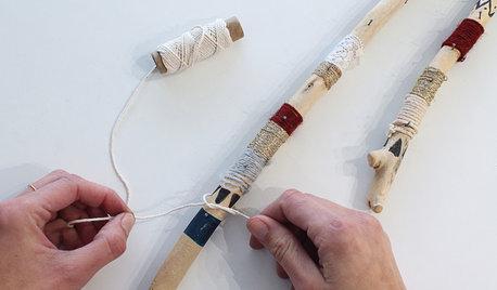 DIY : Transformez du bois flotté en porte-bijoux tendance