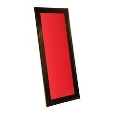 Retro Color Boards-Custom Color Magnetic Dry Erase Board, Brilliant Red, 10x30