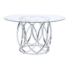 Picket House Furnishings Marcy Round Dining Table CDML100DTTB