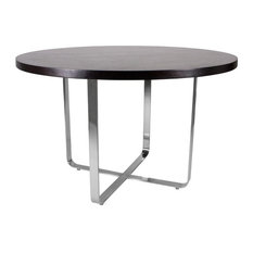 Allan Copley Designs Artesia 48-inch Round Dining Table With Mocca On Oak Top