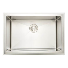 27 in. Laundry Sink for Wall Mount Faucet in Chrome