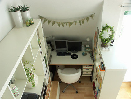 contemporary home office by Busy Bee's blog
