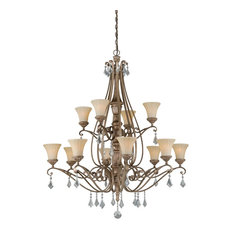Avenant 12-Light Chandelier French Bronze