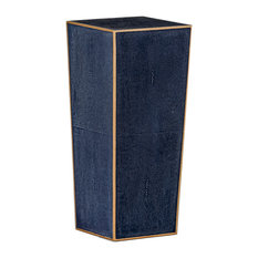 GABBY - Gabby Cecil Faux Shagreen Accent Table - Side Tables and End Tables