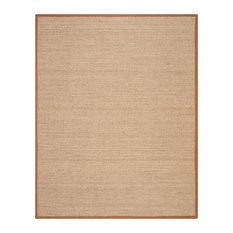 Safavieh Natural Fiber Collection NF115 Rug, Natural/Brown, 8' X 10'