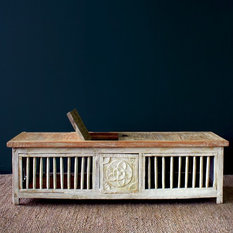 - Nomad Java -  Toy Box Chest Coffee Table - Coffee Tables